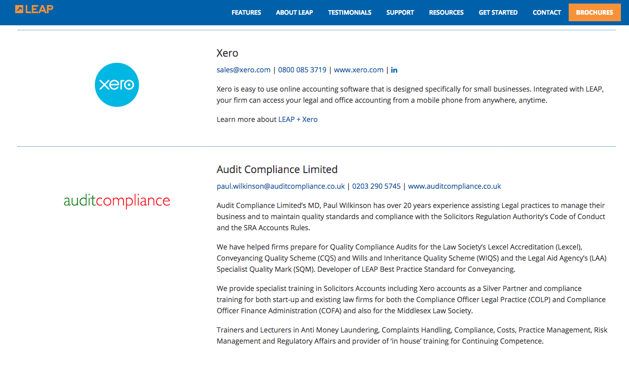 Xero silver partner audit compliance ltd certified advisor and now over 25 law firm clients also use leap legal software which is fully integrated with xero paul wilkinson and audit compliance 1betcityfo Gallery