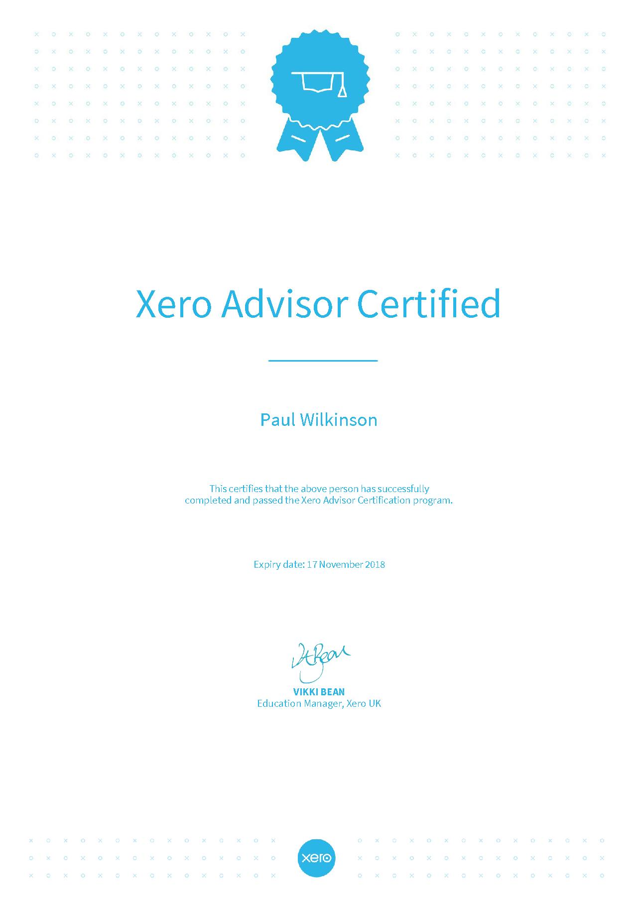Xero silver partner and xero certified advisor for another year xero silver partner and xero certified advisor for another year 1betcityfo Gallery